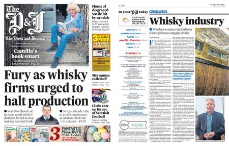 The Press and Journal Moray – April 11, 2020