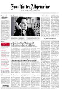 Frankfurter Allgemeine Zeitung F.A.Z. mit Rhein-Main Zeitung - 24. April 2019