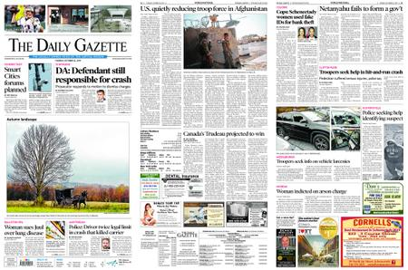 The Daily Gazette – October 22, 2019