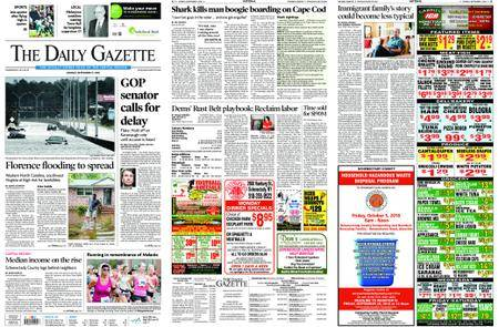 The Daily Gazette – September 17, 2018