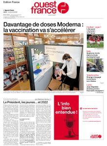 Ouest-France Édition France – 24 mai 2021