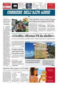 Corriere dell'Alto Adige - 10 Giugno 2018