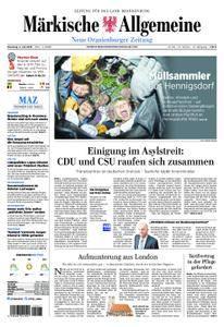 Neue Oranienburger Zeitung - 03. Juli 2018