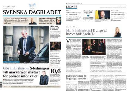 Svenska Dagbladet – 01 februari 2018