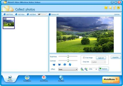iPixSoft Video Slideshow Maker Deluxe 4.4.0 + Templates pack
