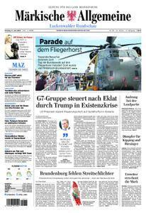 Märkische Allgemeine Luckenwalder Rundschau - 11. Juni 2018
