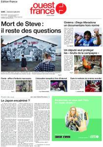 Ouest-France Édition France – 31 juillet 2019