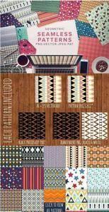 CreativeMarket - Geometric Seamless Pattern Bundle