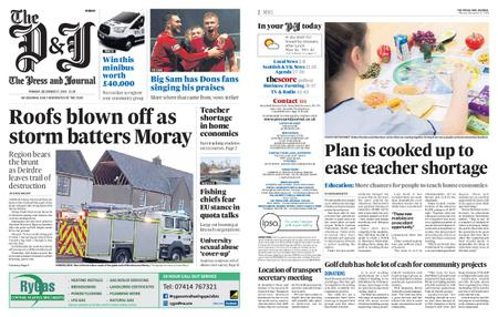 The Press and Journal Moray – December 17, 2018