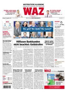 WAZ Westdeutsche Allgemeine Zeitung Oberhausen-Sterkrade - 19. September 2017
