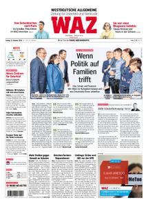 WAZ Westdeutsche Allgemeine Zeitung Oberhausen-Sterkrade - 12. Oktober 2018