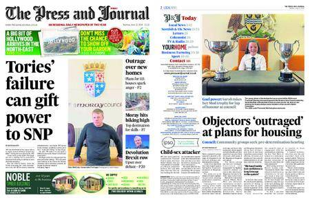 The Press and Journal Moray – June 12, 2018