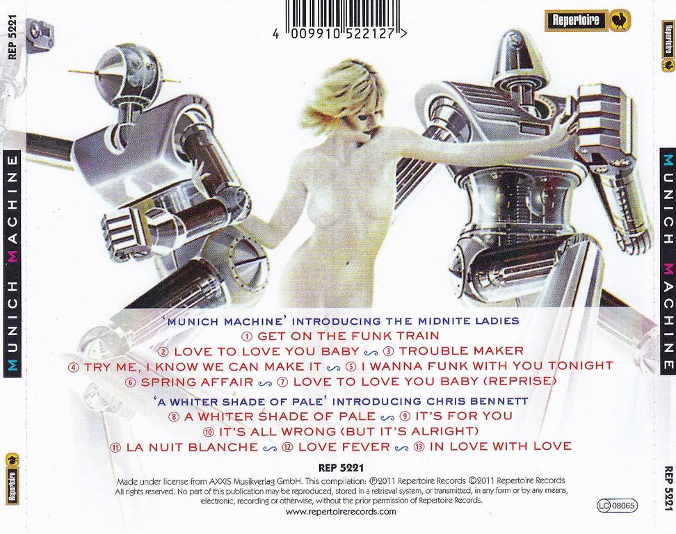 Munich Machine - Get On The Funk Train (2011)