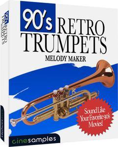 Cinesamples 90's Retro Trumpets KONTAKT