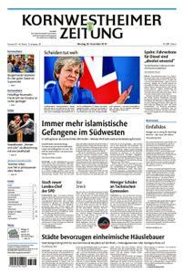Kornwestheimer Zeitung - 26. November 2018