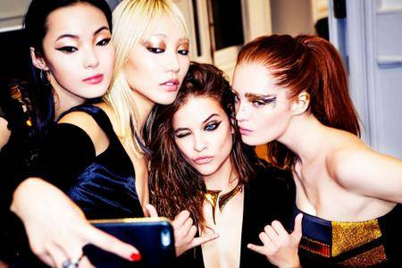 Various models by Ellen von Unwerth for Sunday Times Style November 13, 2016