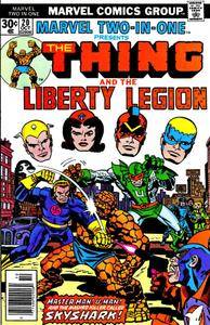 Marvel Two-In-One v1 020 Liberty Legion 1976