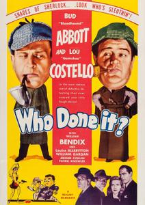 Abbott and Costello - Who Done It? (1942)