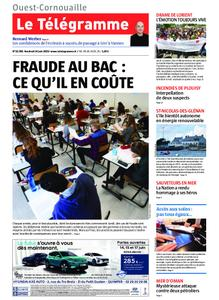 Le Télégramme Ouest Cornouaille – 14 juin 2019