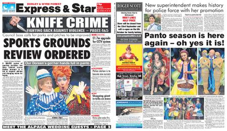 Express and Star Dudley and Wyre Forest Edition – September 17, 2019