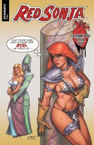 Dynamite-Red Sonja Valentine s Special 2021 Hybrid Comic eBook