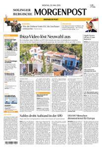 Solinger Morgenpost – 20. Mai 2019