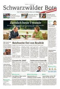 Schwarzwälder Bote Hechingen - 20. August 2018