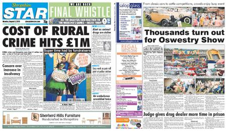Shropshire Star Shrewsbury Edition – August 05, 2019