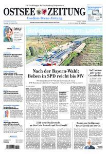 Ostsee Zeitung Wolgast - 16. Oktober 2018