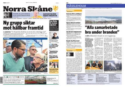 Norra Skåne – 21 maj 2019