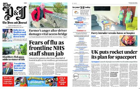 The Press and Journal Moray – October 16, 2018