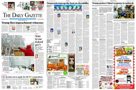 The Daily Gazette – February 08, 2020