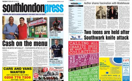 South London Press – February 26, 2019