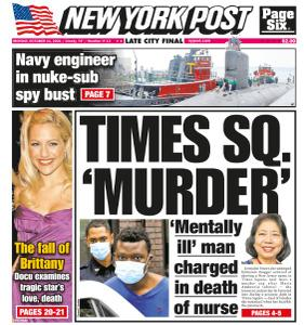 New York Post - October 11, 2021