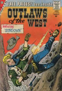 Outlaws of the West 023 (Charlton 1960)