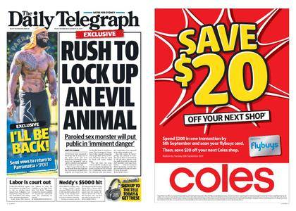 The Daily Telegraph (Sydney) – August 30, 2017