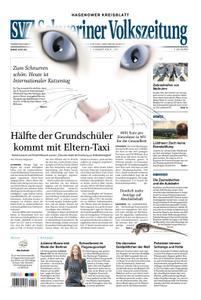 Schweriner Volkszeitung Hagenower Kreisblatt - 08. August 2019