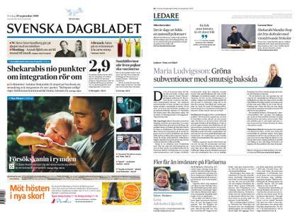 Svenska Dagbladet – 20 september 2019