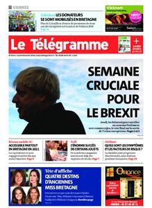 Le Télégramme Vannes – 09 décembre 2019