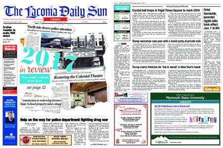 The Laconia Daily Sun – January 02, 2018