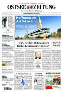 Ostsee Zeitung Wolgast - 26. September 2018