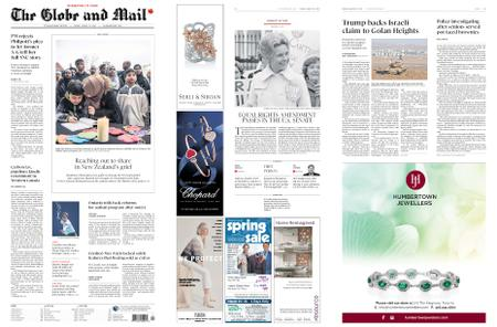 The Globe and Mail – March 22, 2019