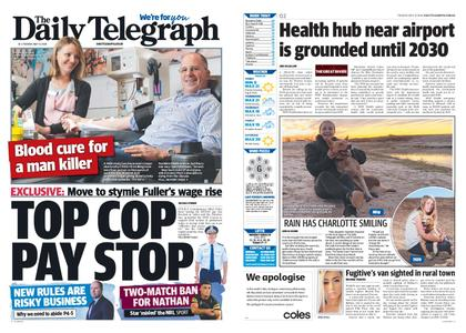 The Daily Telegraph (Sydney) – May 12, 2020