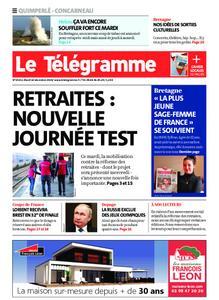 Le Télégramme Concarneau – 10 décembre 2019