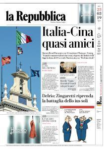 la Repubblica - 23 Marzo 2019