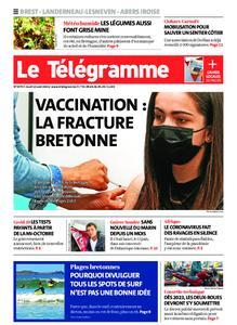 Le Télégramme Brest Abers Iroise – 12 août 2021