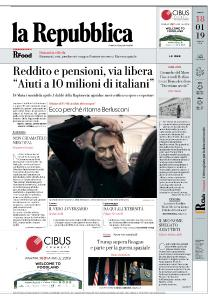 la Repubblica - 18 Gennaio 2019