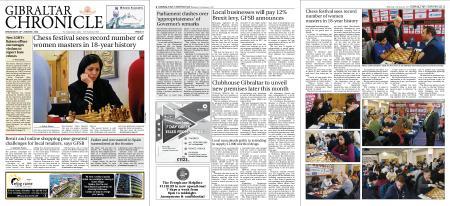 Gibraltar Chronicle – 22 January 2020