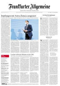 Frankfurter Allgemeine Zeitung - 16 März 2021