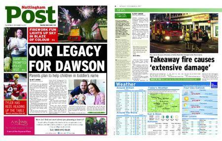 Nottingham Post – November 06, 2017